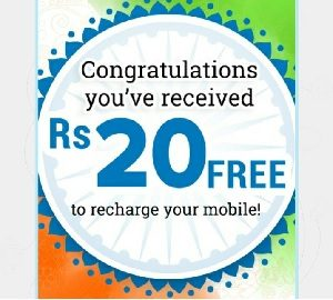 Recharge Loot) Vodi App - Refer 3 Friends & Get Rs 20 Recharge