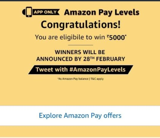 (All Answers)Amazon Pay level - Answer & win Rs 5000