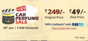 (Next Sale) Droom Flash Sale -Get Car Perfume For Free(@29th Jan)