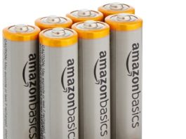 (★Deal)AmazonBasics AAA Alkaline Batteries (8-Pack) In ₹199(Worth ₹345)