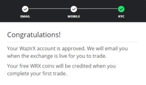 Wazirx refferal Code