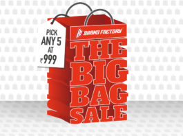 """Brand factory """"The Big Bag"""" Sale- Buy 5 Products in Just Rs.999"""