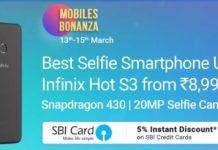 Flipkart Mobile Bonanza Sale- Upto Rs.10000 Off On SmartPhones