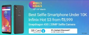 Flipkart Mobile Bonanza Sale- Upto Rs.10000 Off On SmartPhones