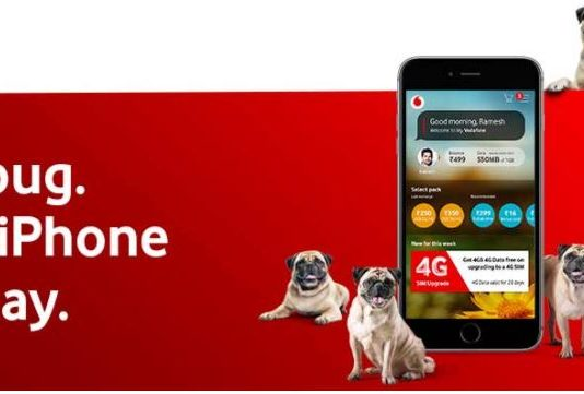 (All Locations) My Vodafone Pugathone- Find Pug & Win iPhone8