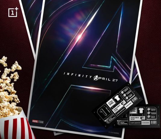 Get Avengers-The Infinity War Tickets Absolutely Free(All OnePlus Users)