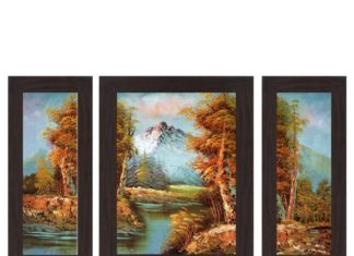 (Steal) Beautiful Pack Of 3 Wall Art Painting in Just ₹177(Worth ₹1599)
