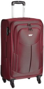 (Super Loot) Amazon Safari Red Suitcase In Just ₹1869(Worth ₹9790)