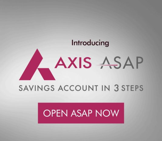 Open Free AXIS Bank Online Saving Account