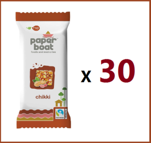(#1 Seller) Paper Boat Chikki x 30 Units In Just ₹195 (Worth ₹300)