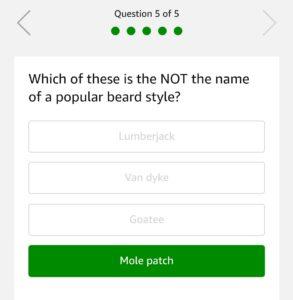 Amazon Ustraa Quiz – Answer & Win Rs.10000