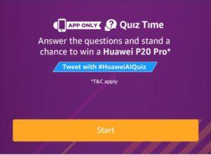 All Answers)Amazon Huawei Mate20 Pro Quiz Answers - Free