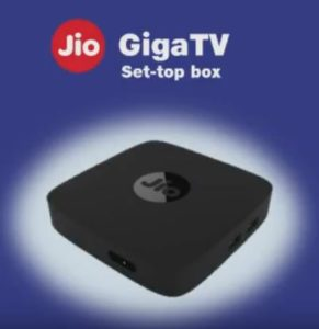 Jio GigaTV Set Top Box-Price, How To Purchase, Available Date
