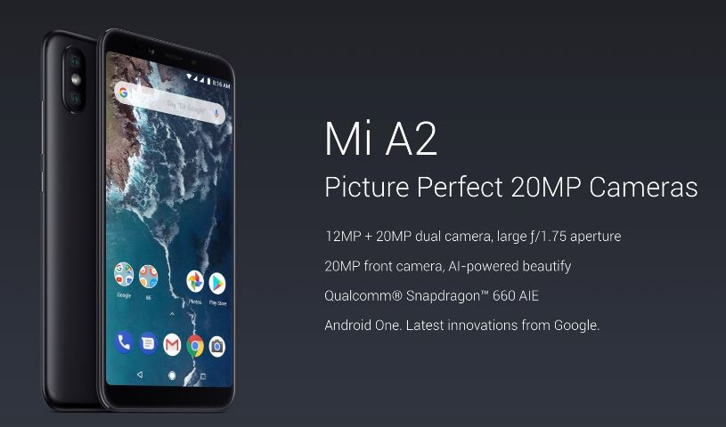 Mi A2 & Mi A2 Lite India Next Flash Sale Date & Time In Amazon