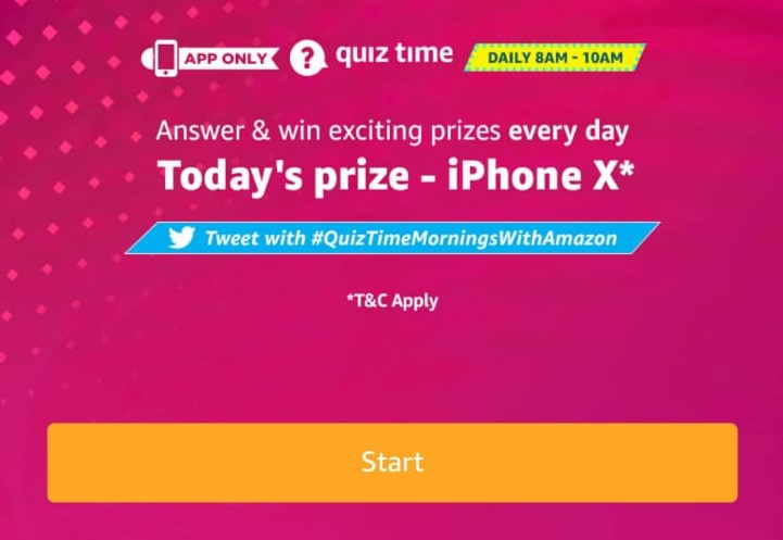 All Answers) Amazon iPhone X Quiz - Win Free iPhone X - Free