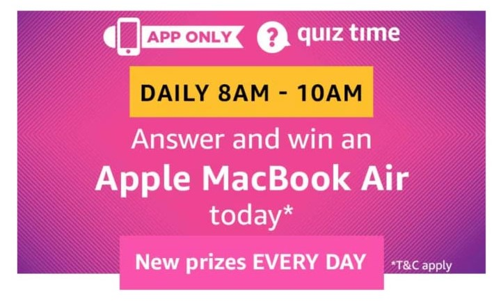 Answers Added)Amazon Apple MacBook Air Quiz Answers - Free