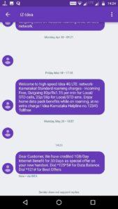 Idea Free Internet Loot- Free 30 GB 4G Data Instantly (1GB/Day)