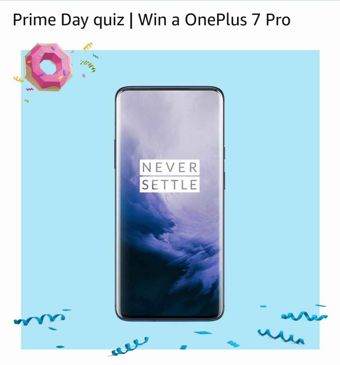 All Answers) Amazon Prime Day Quiz Week 14 July - Win Free ₹50000