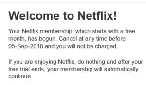 Get 1 Month Netflix Premium Free (New Method July 2019)