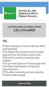 My Vodafone App Flipkart Coupon