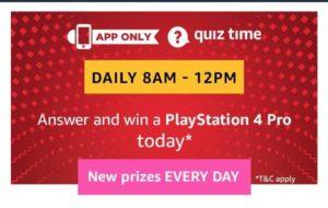 Amazon Playstation 4 Pro Quiz Answers
