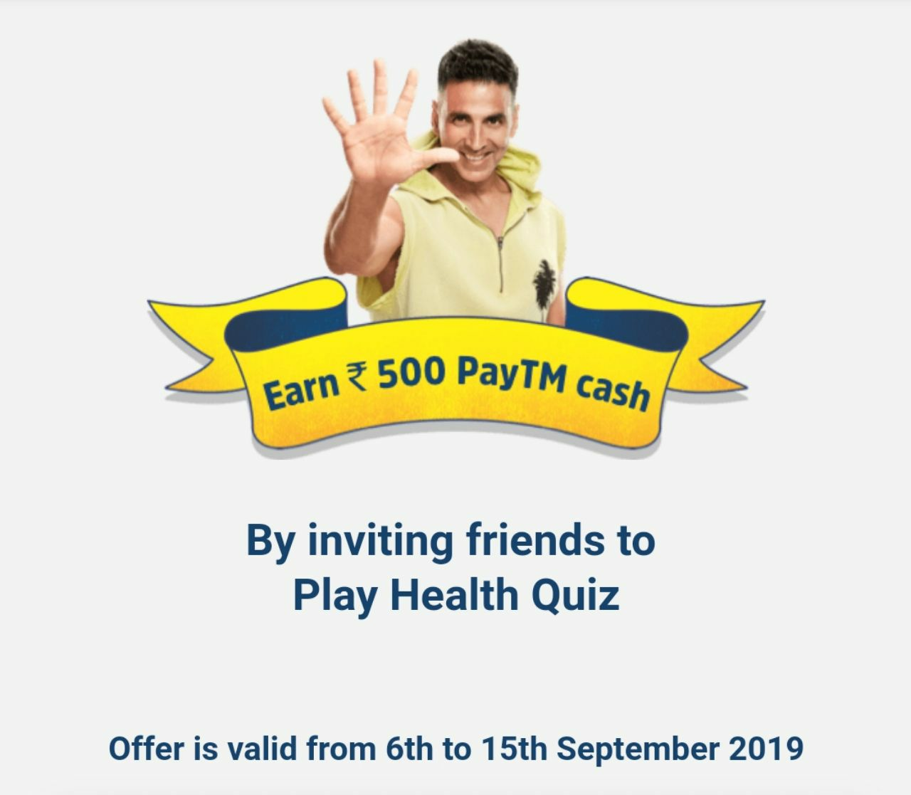 GoQii Referral Code - Win ₹500 PayTM + iPhone & ₹50000 Prizes