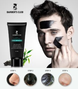 (Amazon's Best) Barber's Club Charcoal Peel off Mask In Just Rs.149(Worth Rs.549)