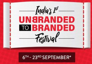Brand Factory Unbranded to Branded Festival-Exchange Old Clothes & Get New