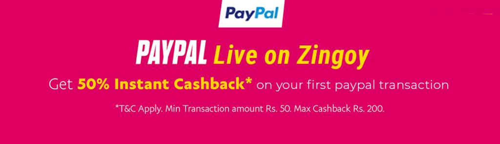 Extended) Zingoy Loot - Get 50% Cashback On PayTM/Amazon