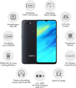 Real me 2 pro specifications