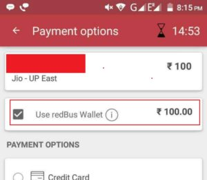 May Be Over Now) RedBus - Get Rs 100 Mobile Recharge For Free - Free