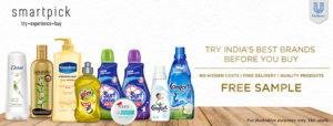 (Freebie) Get Free Hindustan Unilever SmartPick Sample Box