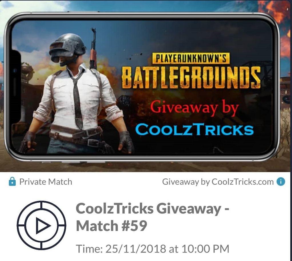 Giveaway) Play PUBG With CoolzTricks & Win Free ₹1200 PayTM