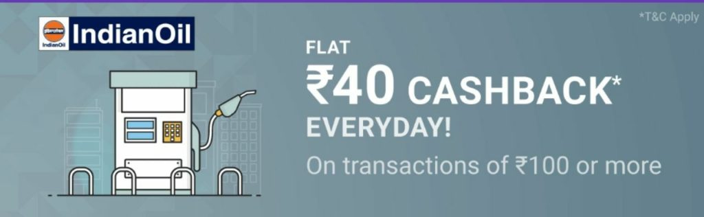 PhonePe Petrol Offer- Get ₹100 Petrol In Just ₹60 Everyday(All Users+Multiple time)