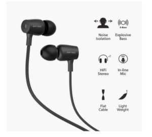 Ant Audio Thump Hi-Fi Earphone with Mic In Just Rs.299(Worth Rs.999)