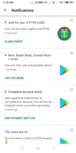 how to convert google play credit to paytm