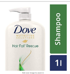 [Pantry] Dove Hair fall Rescue Shampoo, 1L In Just ₹345(MRP:₹690)