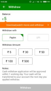 Looto) Xender Refer & Earn- ₹5 On SignUP+ ₹6/Refer(PayTM/UPI Redeem)