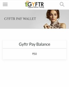 Gyftr Loot- Register & Get Free 50 GyFTR Points Worth Rs.50 | Buy Amazon/Fk