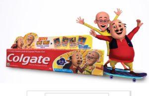 (Freebies) Get Free Colgate Kid Toothpaste + Motu Patlu Cards
