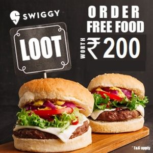 [Lootlo] Swiggy Loot- Order Food Worth ₹200 For Free (New/Old Users)