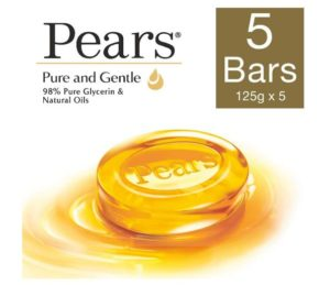 (BEST DEAL) Pears Pure & Gentle Soap,125g (Pack Of 5) in ₹185