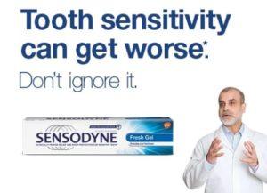 (Freebies) Sensodyne Deep Clean Sample for FREE In Lybrate