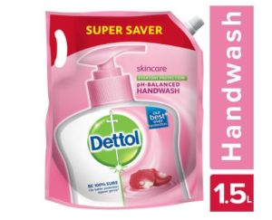 (Super Deal) Dettol Liquid Handwash,1500ml In Just ₹139 (Worth ₹249)