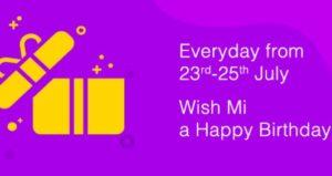 Xiaomi ₹5 Flash Sale
