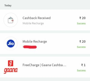 🔥Freecharge - Buy ₹1 Deal & Get Free ₹20 Recharge | All Users