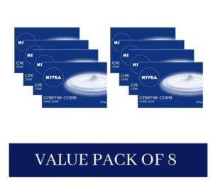 (Best) Nivea Cream Soap,125gm Pack Of 8 @ Just ₹224 (Worth ₹448)