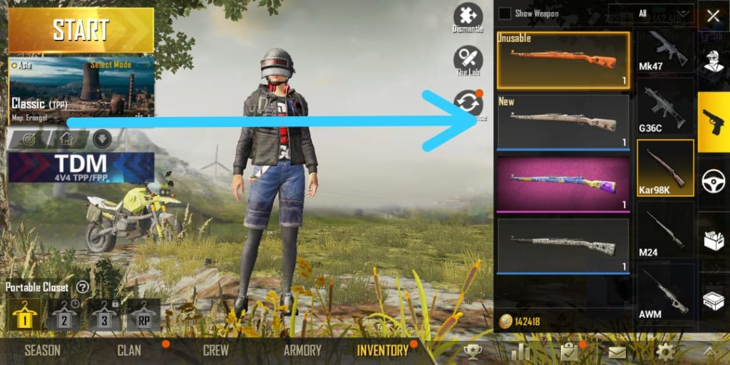 PUBG Trick - Get Temporary Head Item For Free