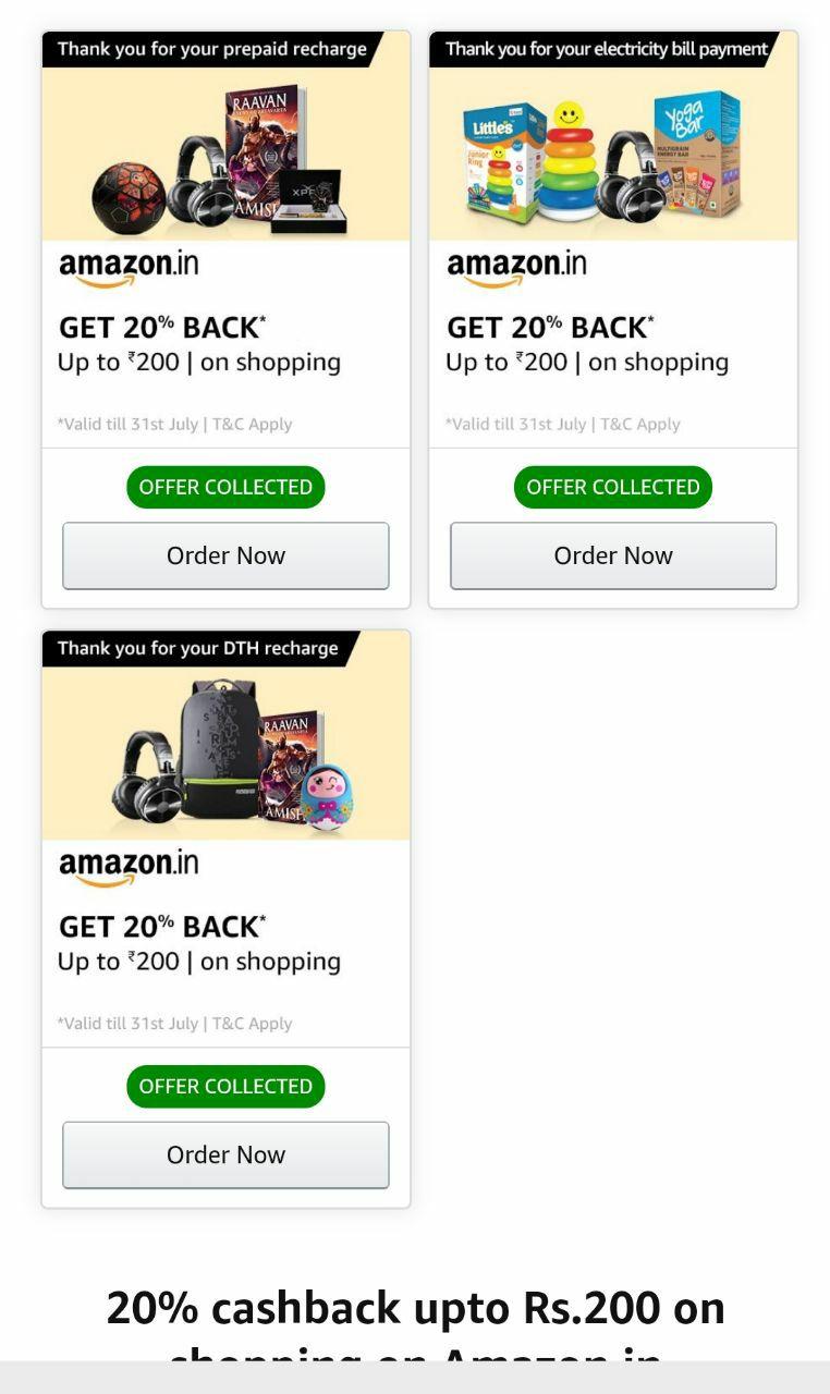 (बड़ा धमाका) Amazon ₹1000 Cashback On ₹1000 Shopping Of Anything