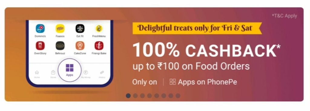 [Real Loot] Food Worth ₹1000 For Free with PhonePe | All Users